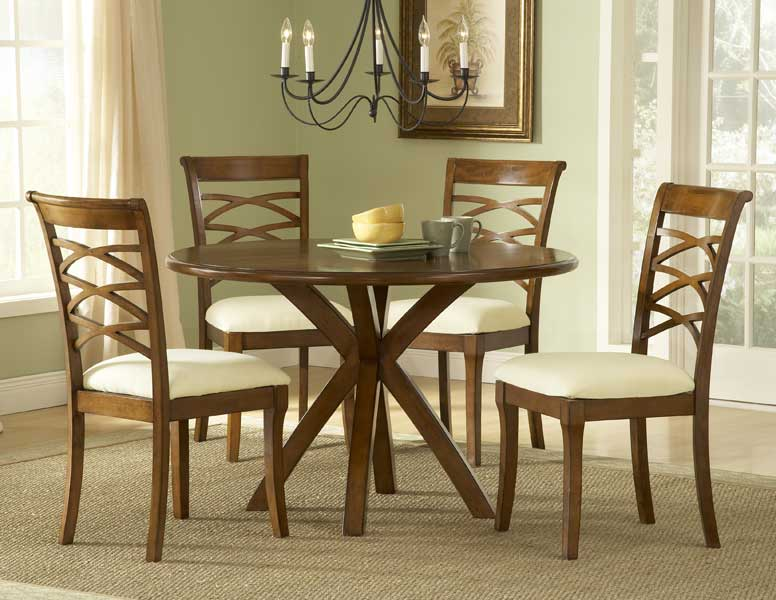 Hillsdale Tailored Collection Round Dining Set