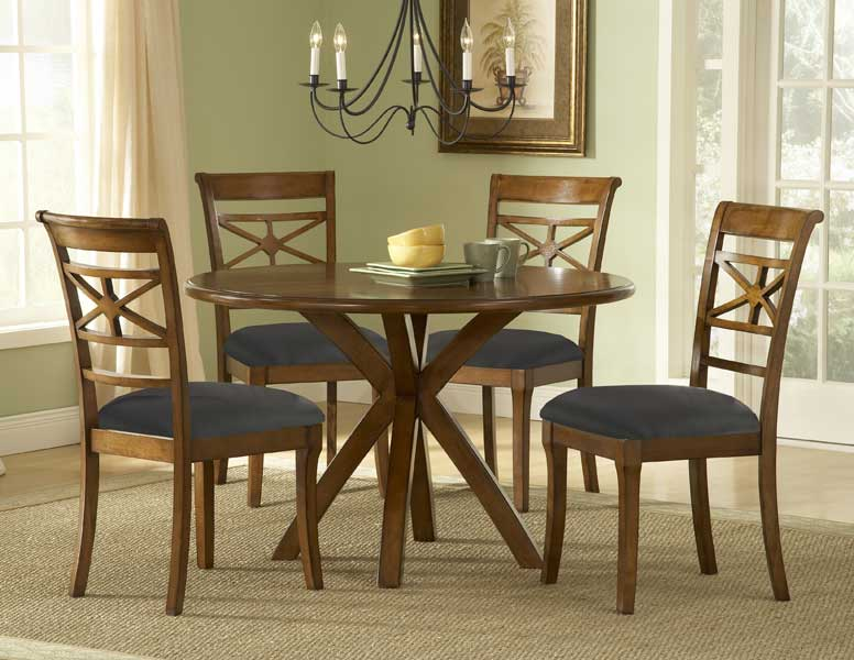 Hillsdale Kingstown Round Dining Set
