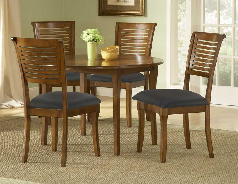 Hillsdale Torino Round Dining Set With Drop Leaf