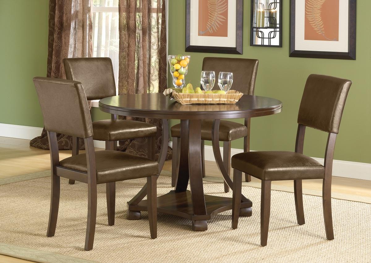Hillsdale Tarranto 5-Piece Dining Set - Dark Cherry