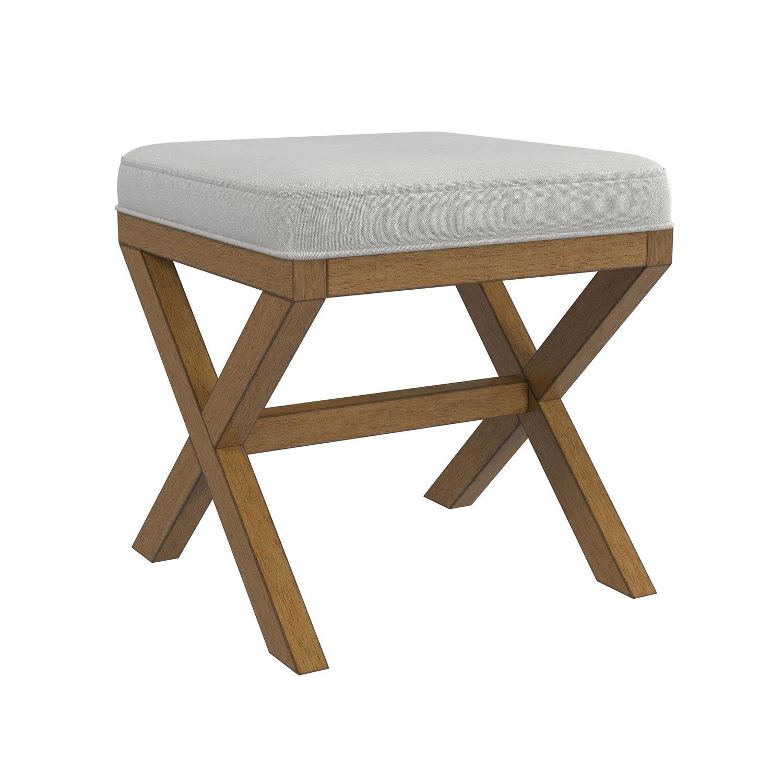Hillsdale Somerset Vanity Bench - Driftwood
