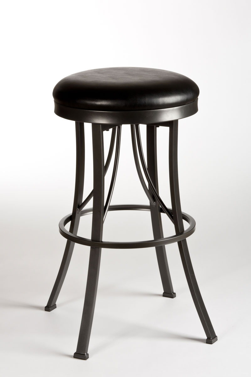Hillsdale Ontario Backless Bar Stool Pewter Hd 5149 830