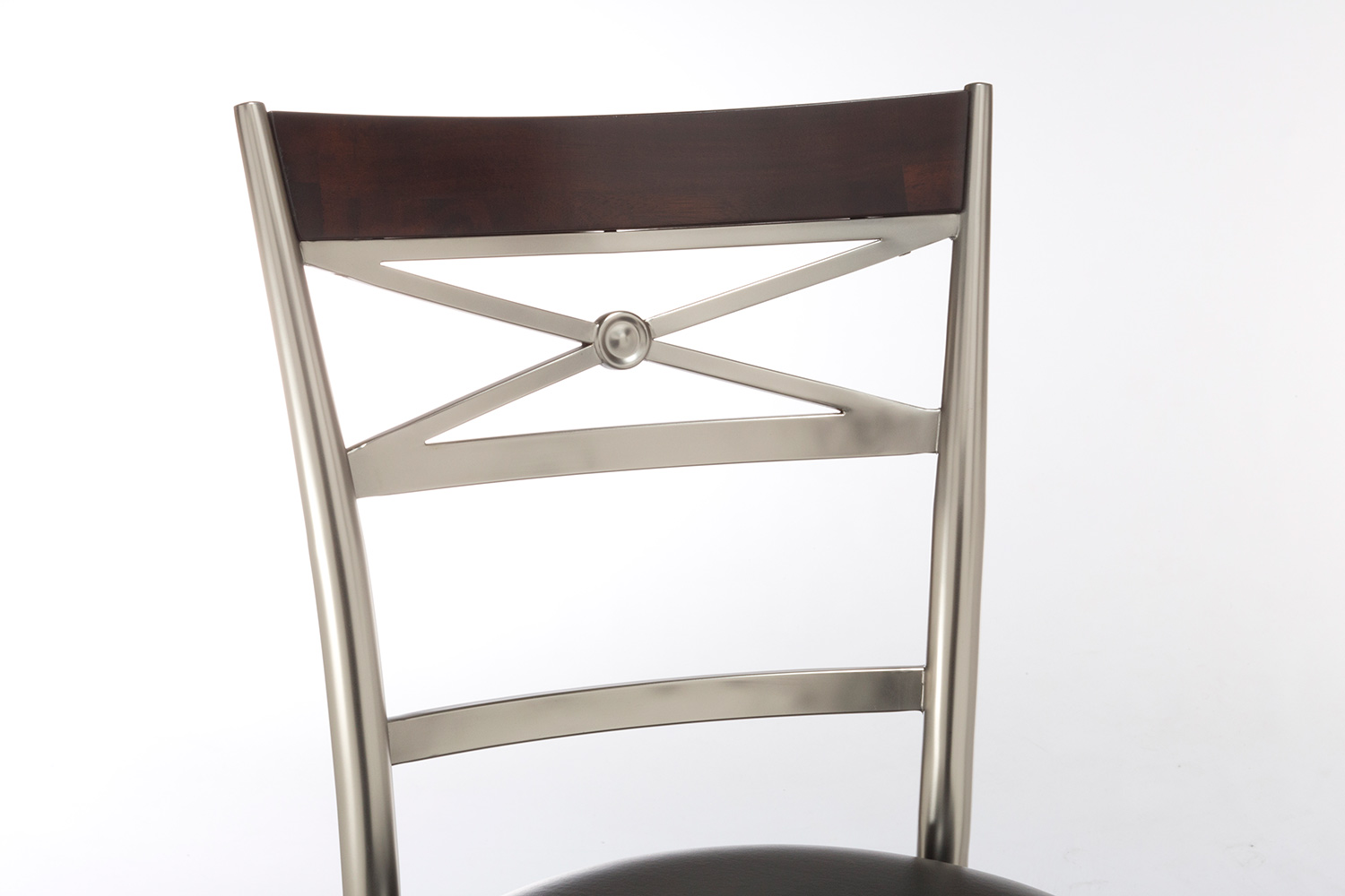 Hillsdale Kilgore Swivel Bar Stool - Dull Nickel