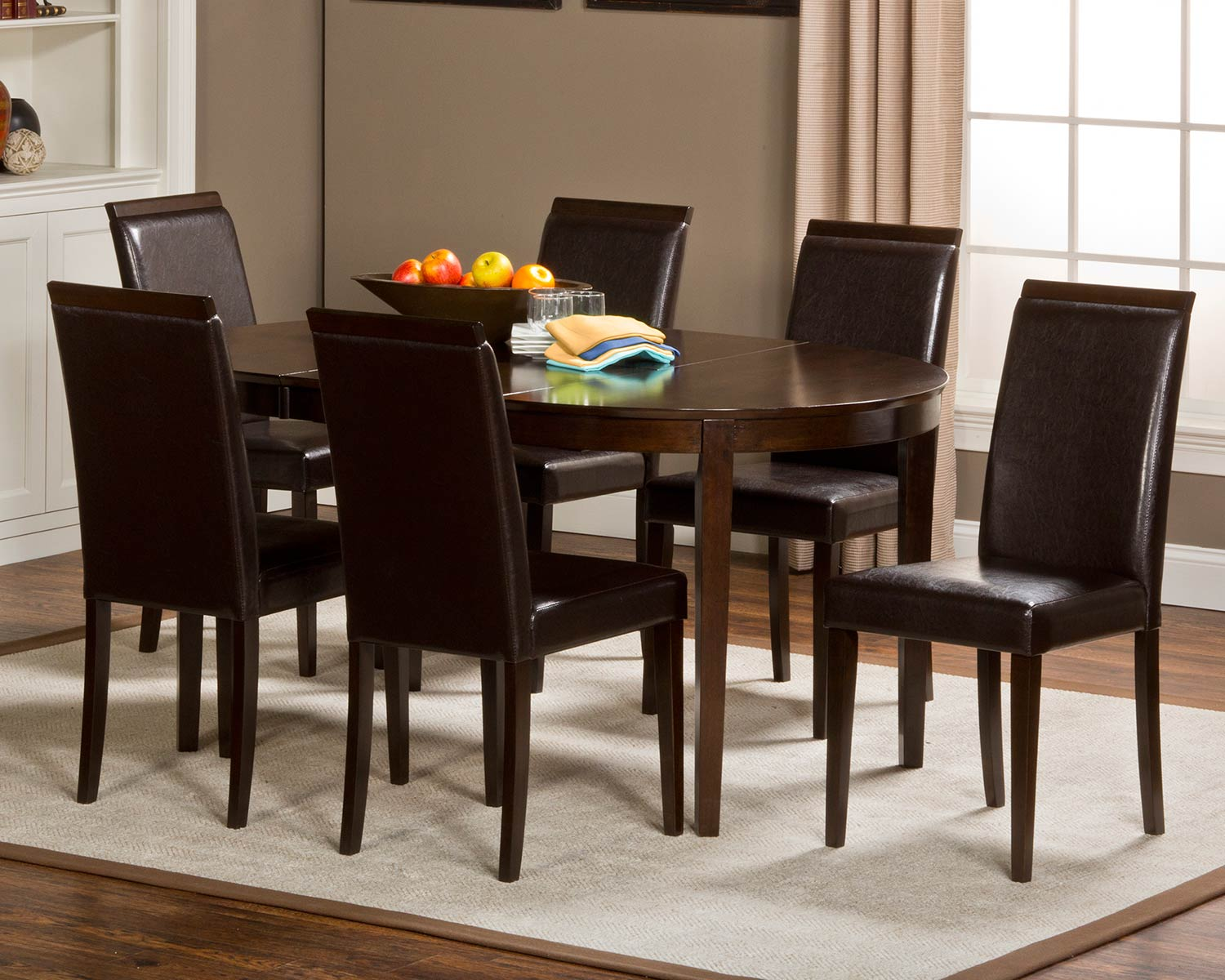 Hillsdale Atmore Dining Set - Cappuccino