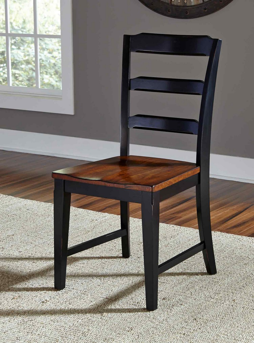 Hillsdale Avalon Dining Chair- Black/Cherry