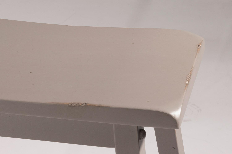 Hillsdale Moreno Non-Swivel Backless Counter Stool - Gray