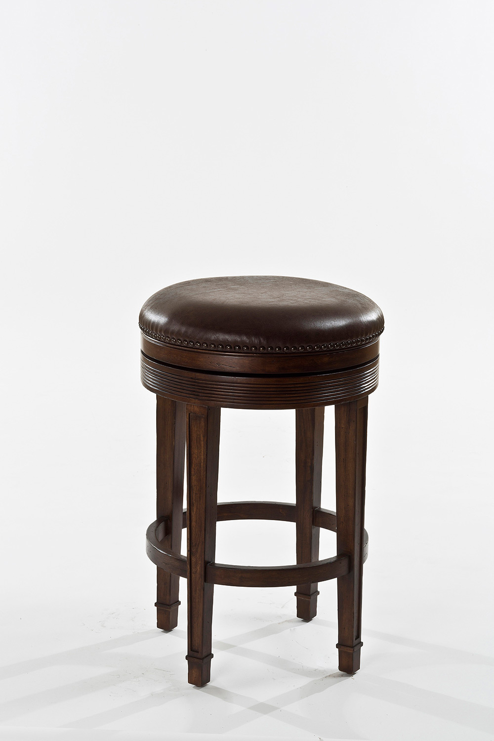 Hillsdale Laurent Backless Swivel Counter Stool