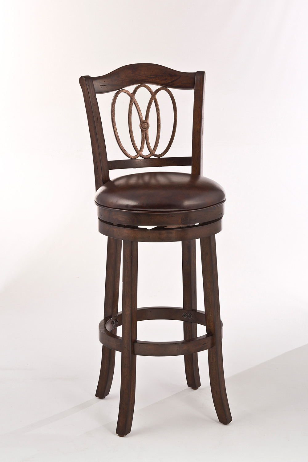 Hillsdale Lyndale Swivel Counter Stool Distressed