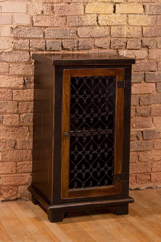 hillsdale gibbins cabinet with metal insert door