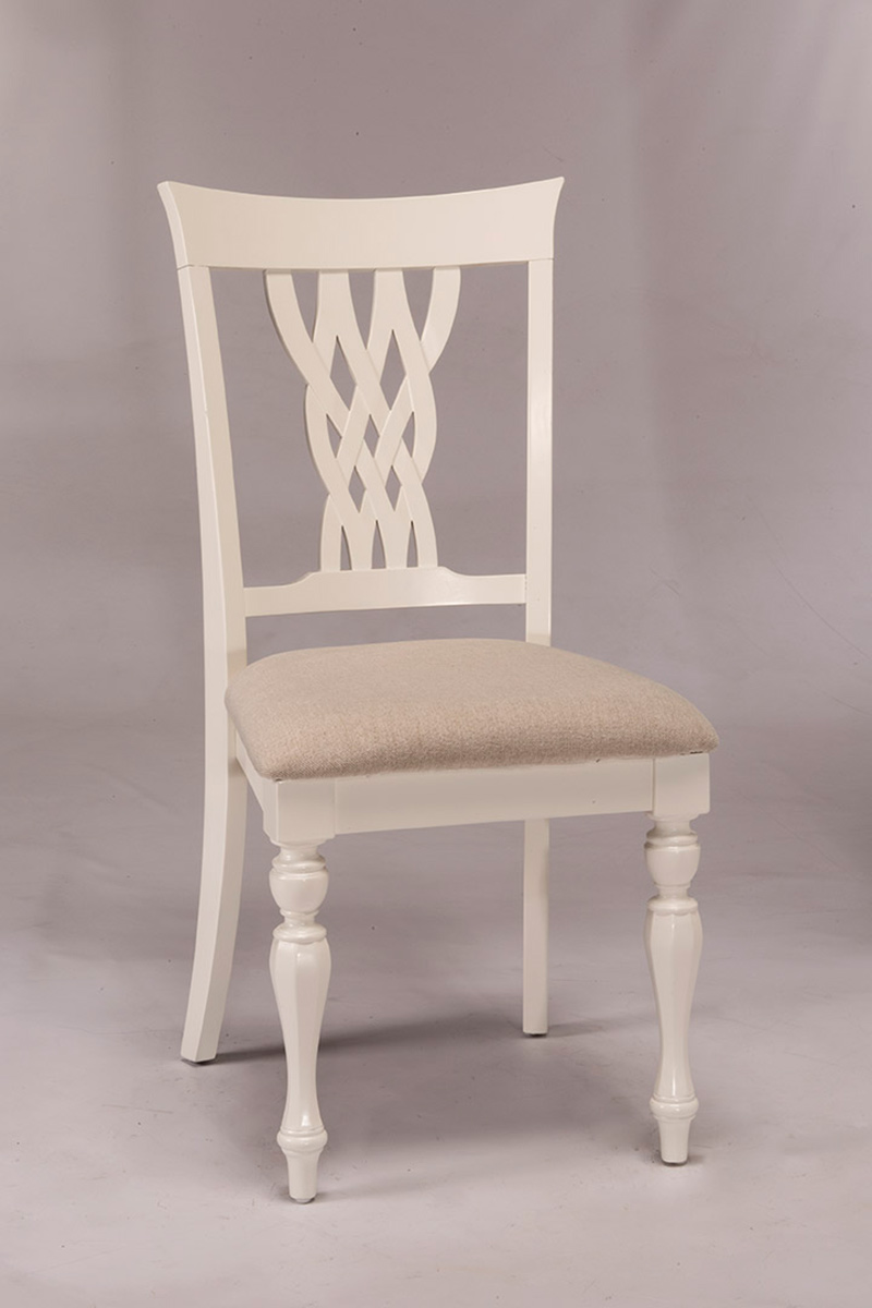 Hillsdale Embassy Dining Chair - White
