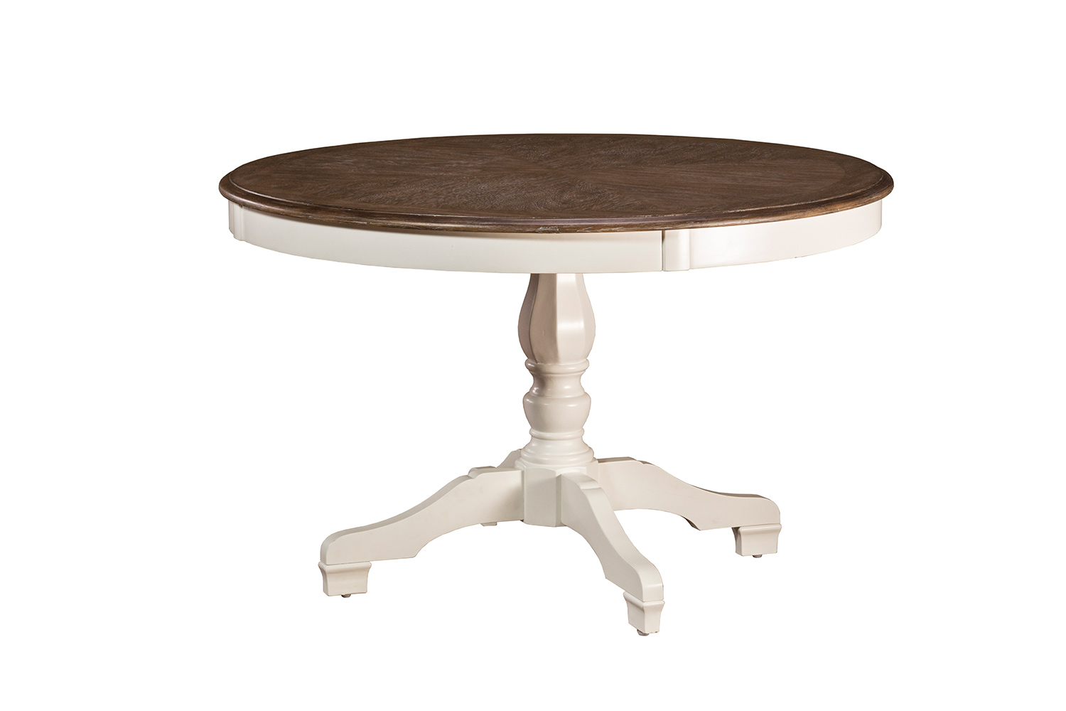 Hillsdale Bayberry-Embassy Round Dining Table - White