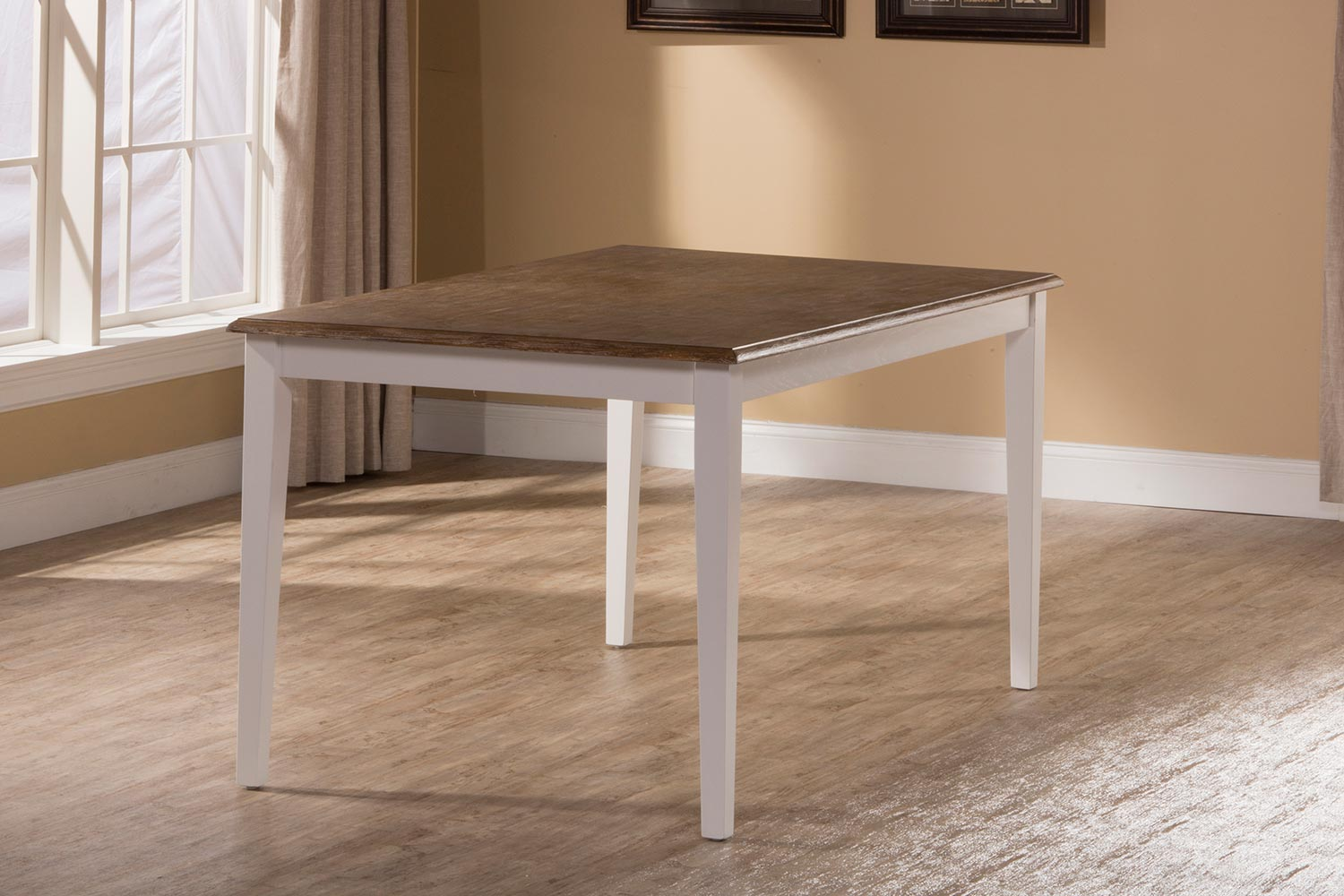Hillsdale Bayberry-Embassy Rectangle Dining Table - White