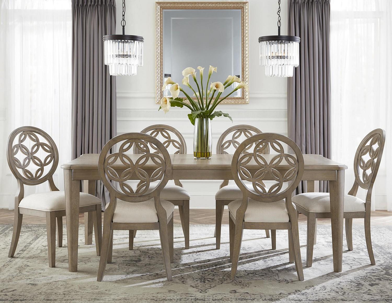 Hillsdale Savona 7-Piece Dining Set - Vintage Gray