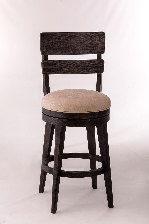 Hillsdale LeClair Swivel Bar Stool - Black