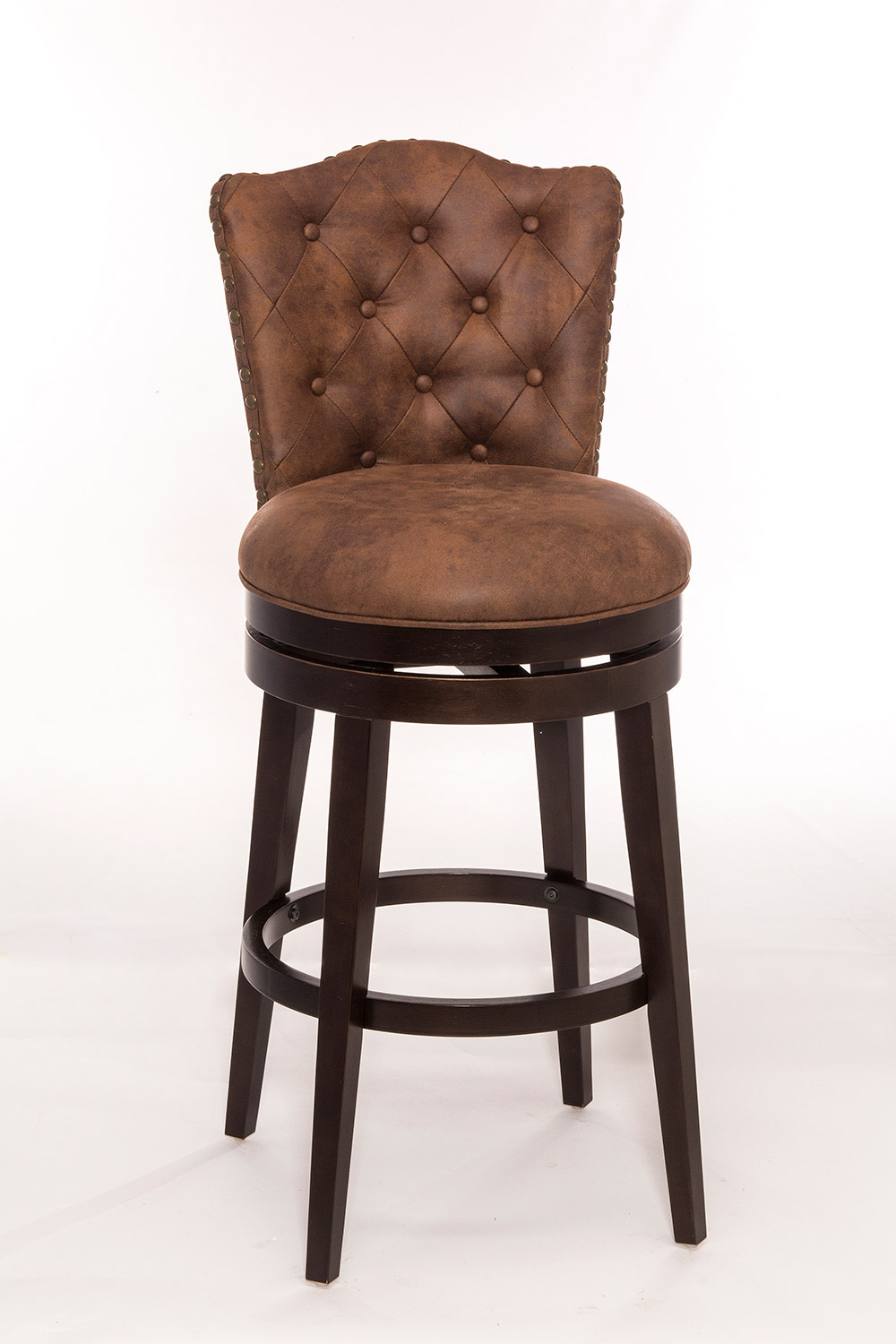 Hillsdale Edenwood Swivel Counter Stool Chocolate HD  : HD 5945 826 from www.homelement.com size 1000 x 1500 jpeg 165kB