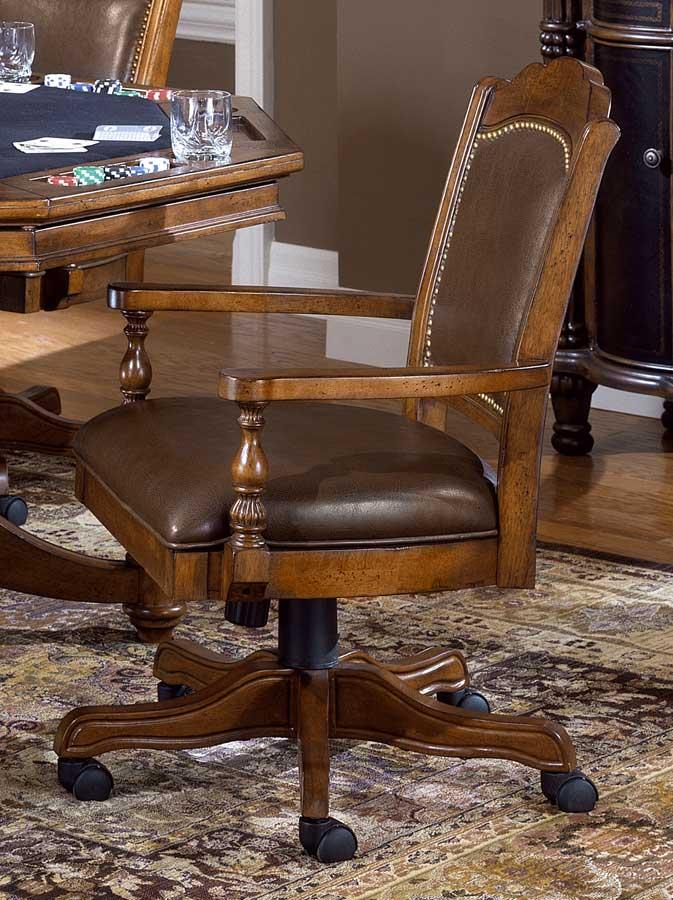 Hillsdale Nassau Game Chair - Leather
