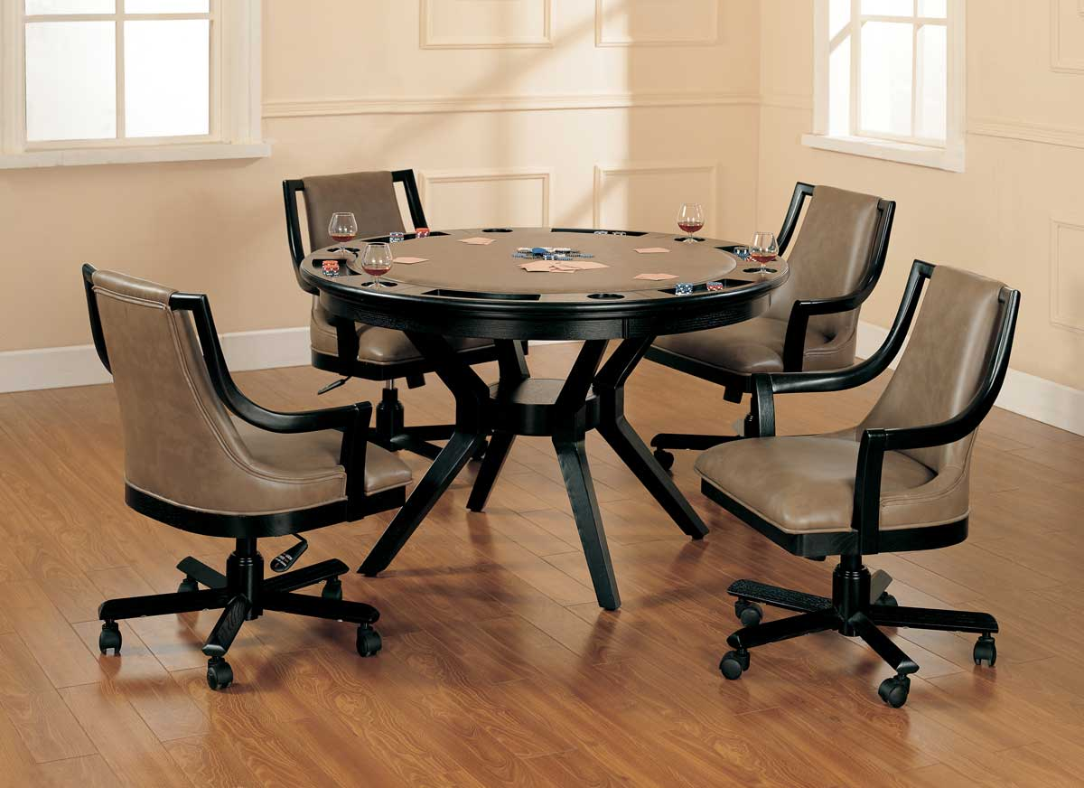 Hillsdale Madrid Game Table Dining Collection