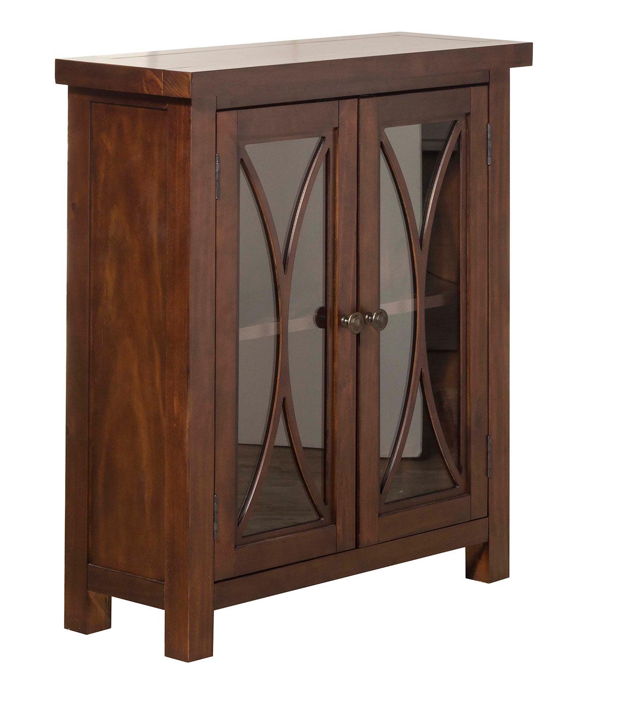 Hillsdale Bayside 2-Door Cabinet - Mahogany
