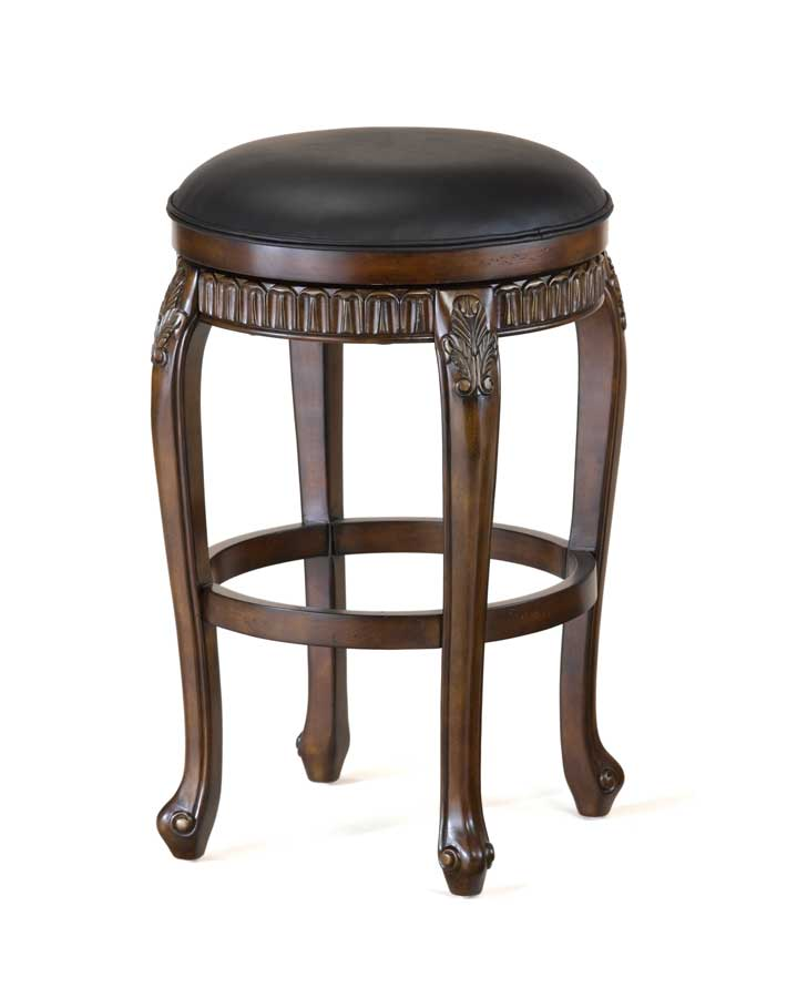 Cheap Hillsdale Furniture Fleur De Lis Swivel Wood Counter Stool – Backless