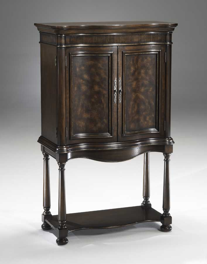 Hillsdale Neuberry Wine and Spirits Armoire