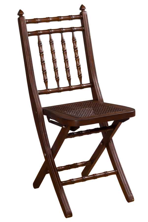 Buy Hillsdale Furniture Clermont Mahogany Finish Folding Chair line Directly