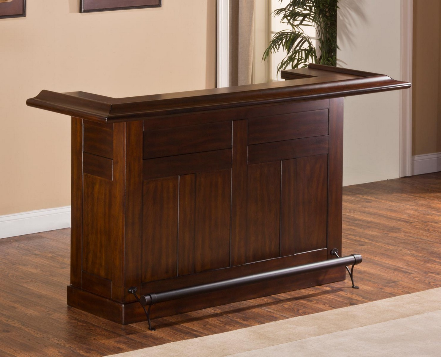 Hillsdale Classic Large Brown Cherry Bar - Brown Cherry
