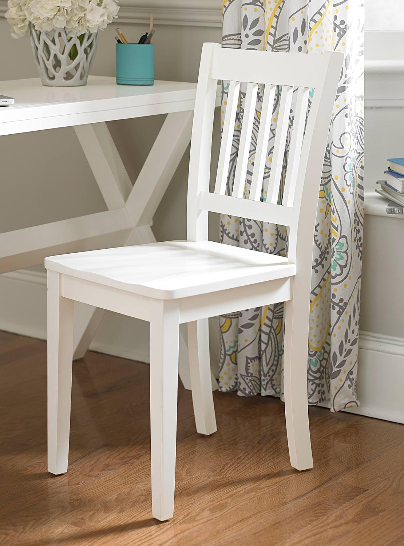 NE Kids Lake House Chair - White