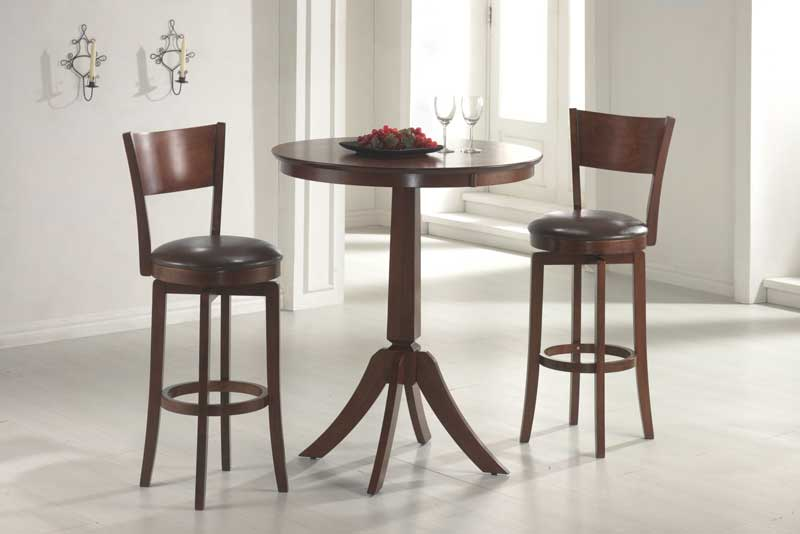 Hillsdale Plainview Bistro Table Set with Archer Stool