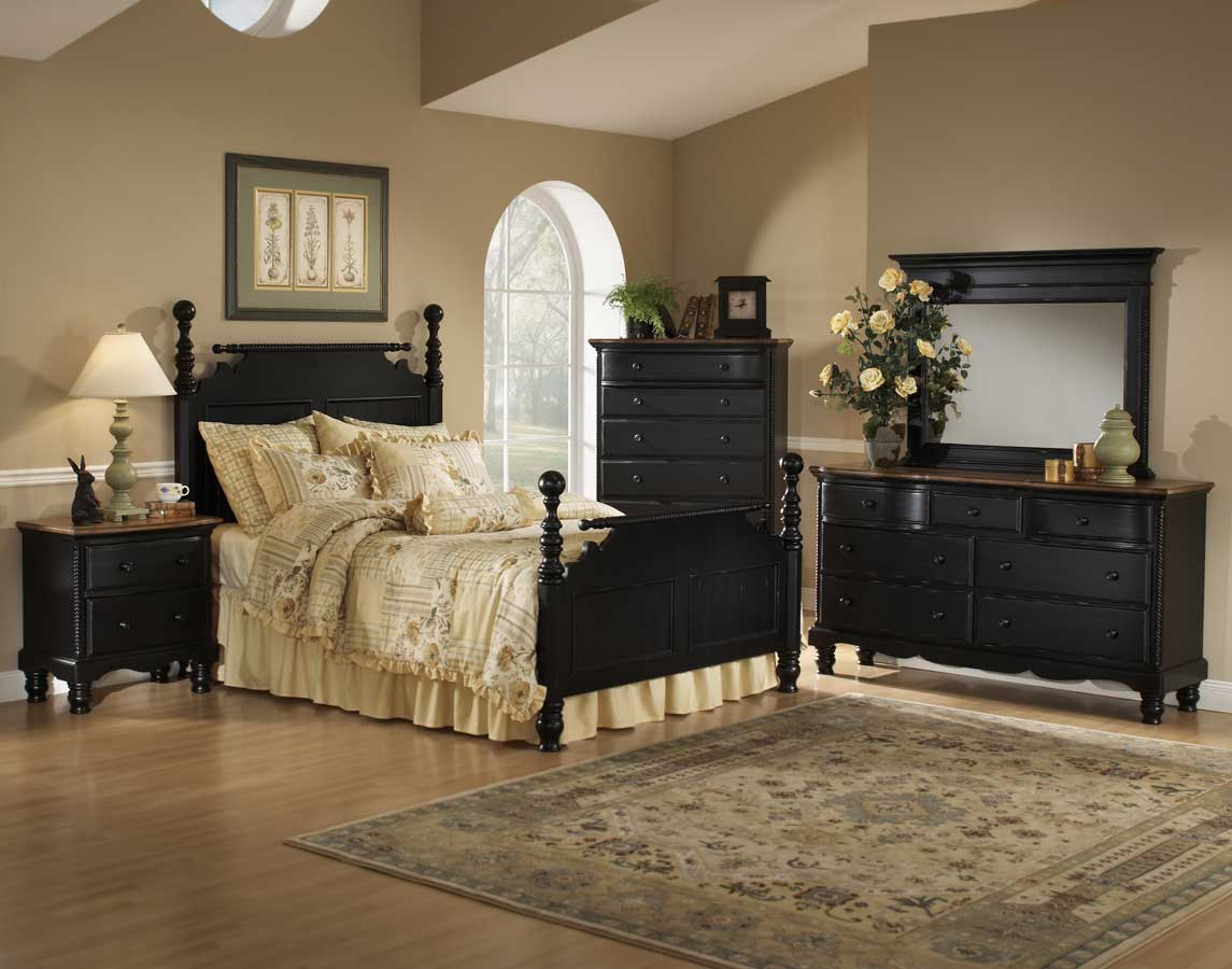 Hillsdale Wilshire Chest - Rubbed Black