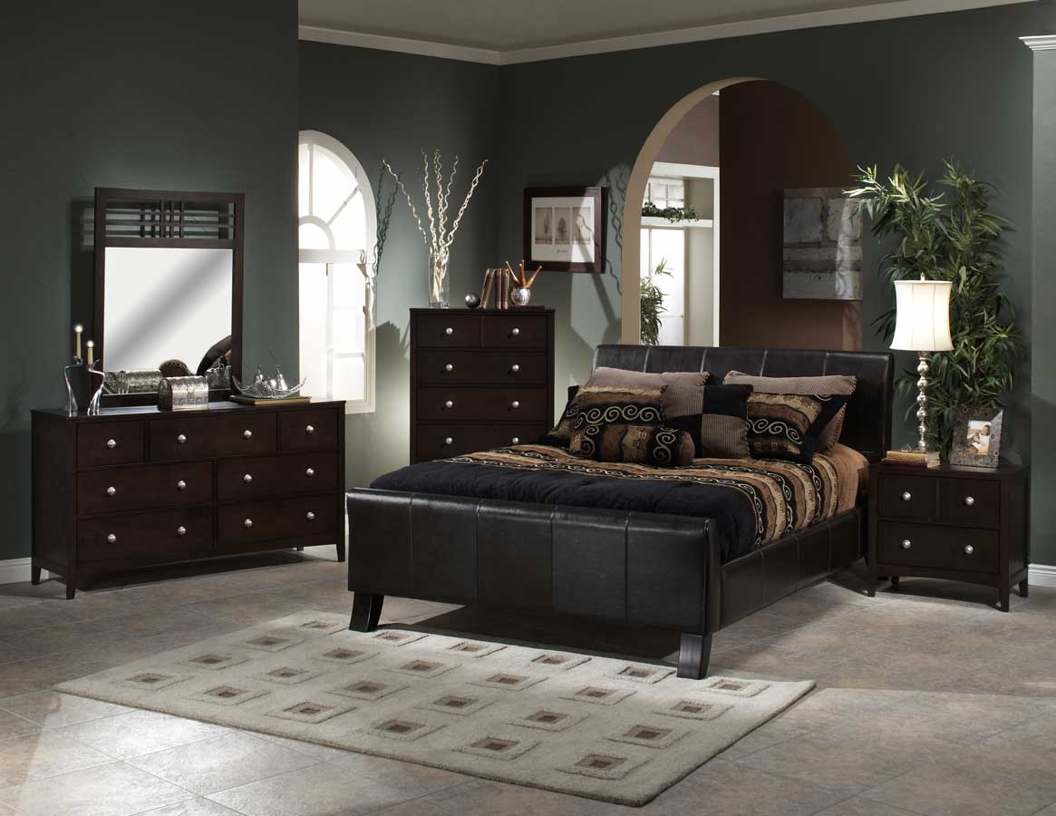 Hillsdale Brookland Bedroom Collection with Tiburon Case B1328