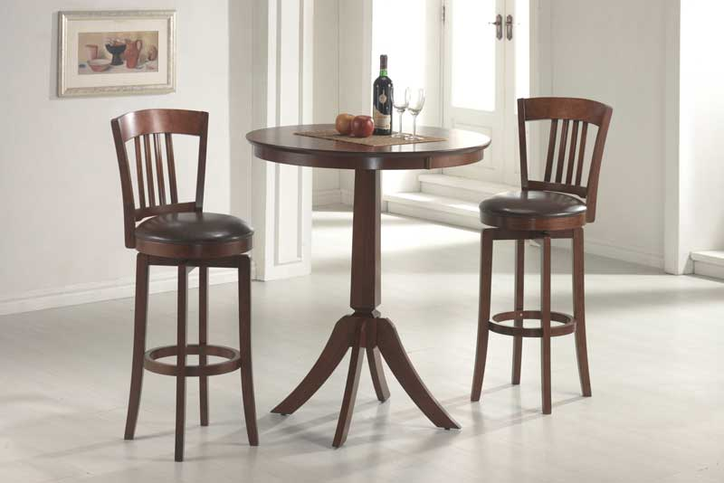 Hillsdale Plainview Bistro Table Set with Canton Stool