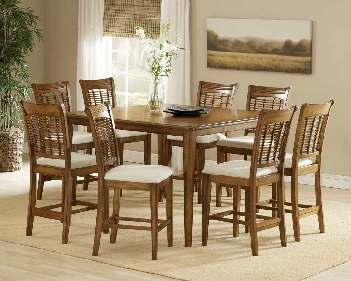 Hillsdale Bayberry Non-swivel Wood Counter Stool - Oak