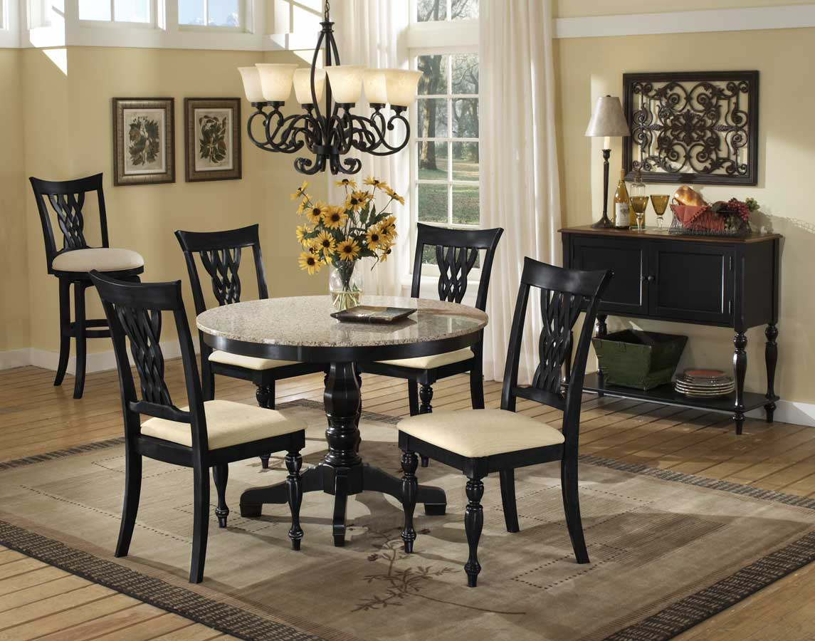 Hillsdale Embassy Granite Top Dining Collection