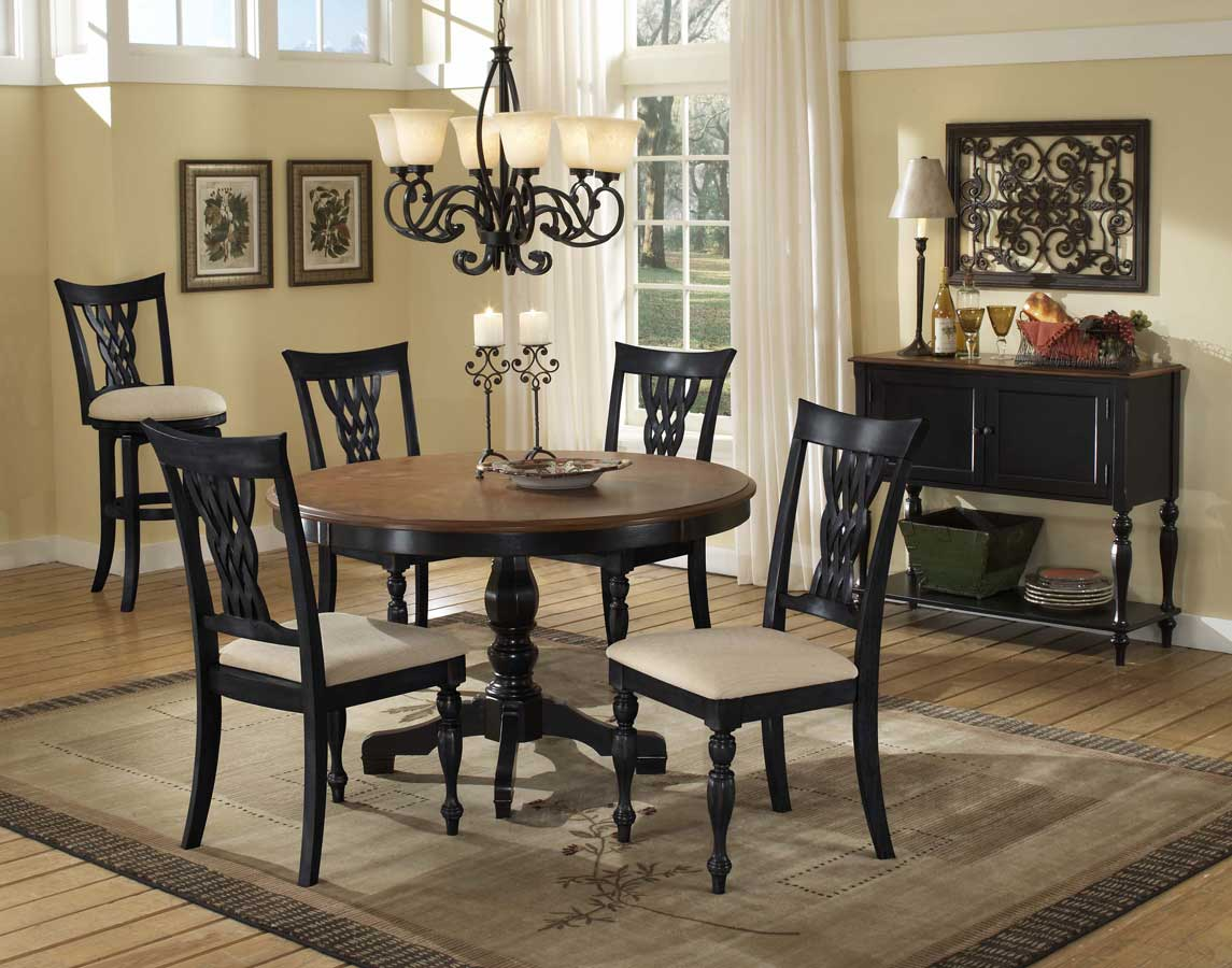 Hillsdale Embassy Wood Top Dining Collection