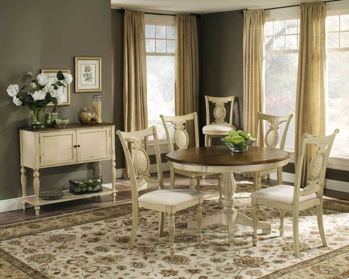 Cheap Hillsdale Furniture Cumberland Round Dining Collection