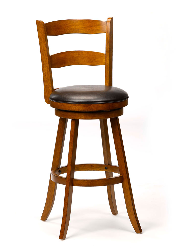 Eastpointe Swivel Counter Stool - Cherry - Hillsdale