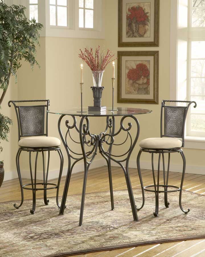 Hillsdale Milan Bar Height Bistro Table