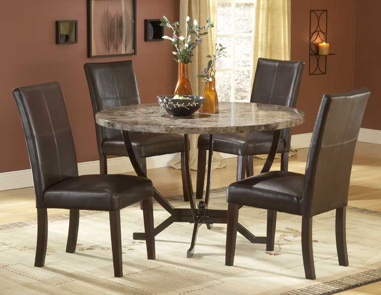 Hillsdale Monaco Round Dining Table Set