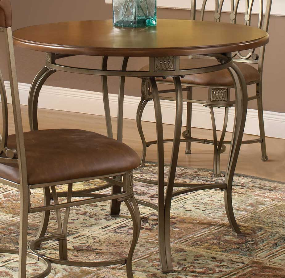 Hillsdale Montello Round Dining Table 36 Inch Hd 41541 810