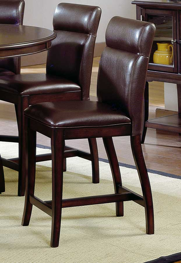 Hillsdale Nottingham Curved Non Swivel Counter Height Stool