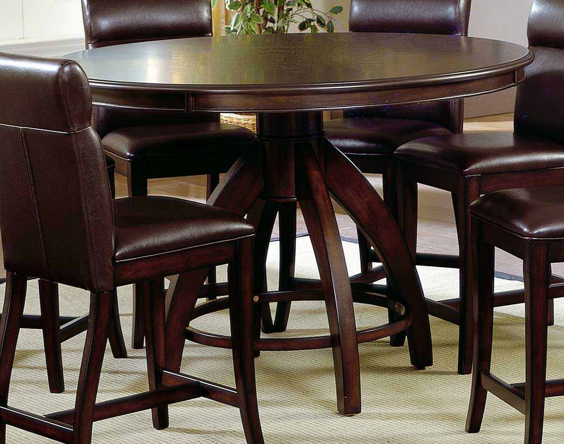 Counter Height Zinc Table : Hillsdale Nottingham Round Counter Height Dining Table HD-4077DTBG at ...