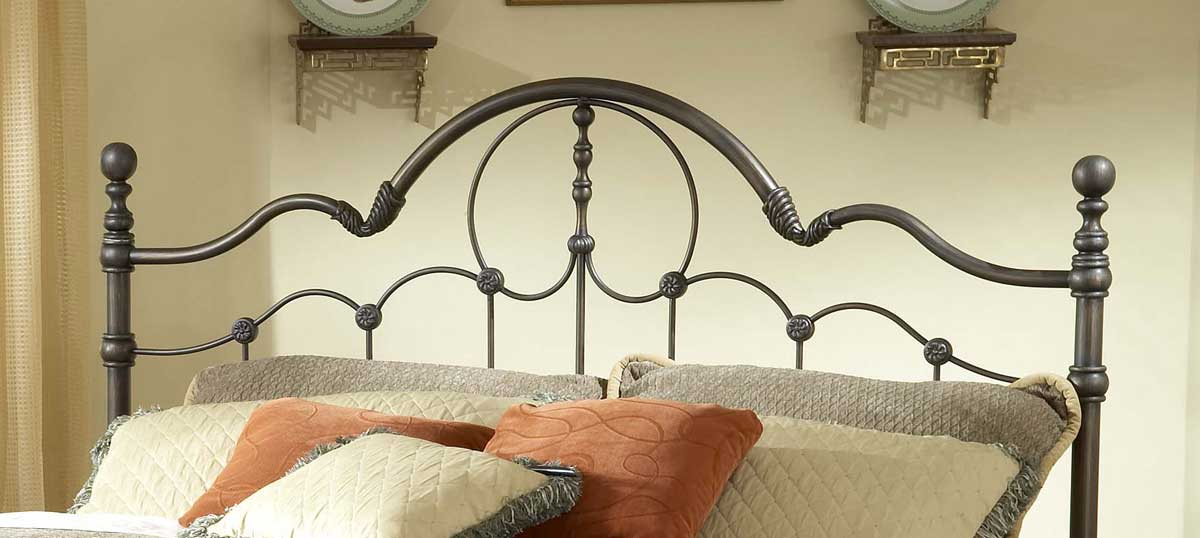 buy hillsdale venetian bed set with rails
