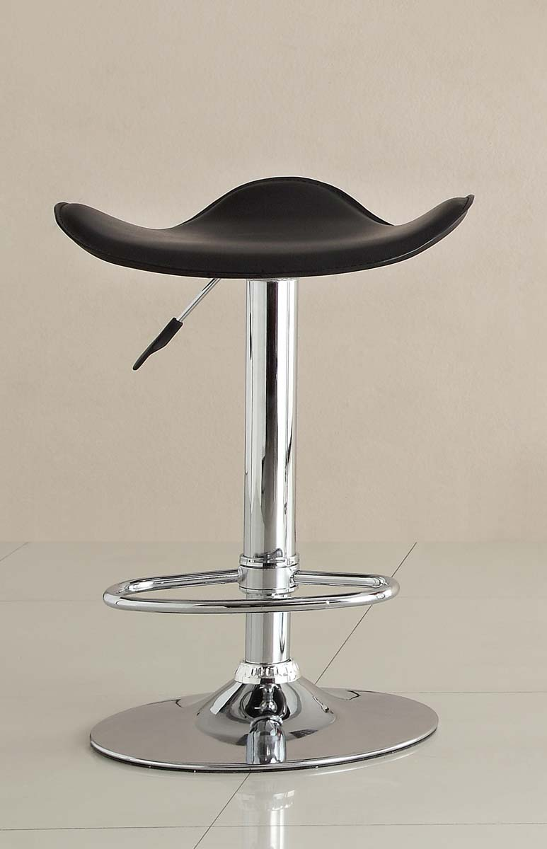 Homelegance 1146BLK Ride Swivel Stool - Black