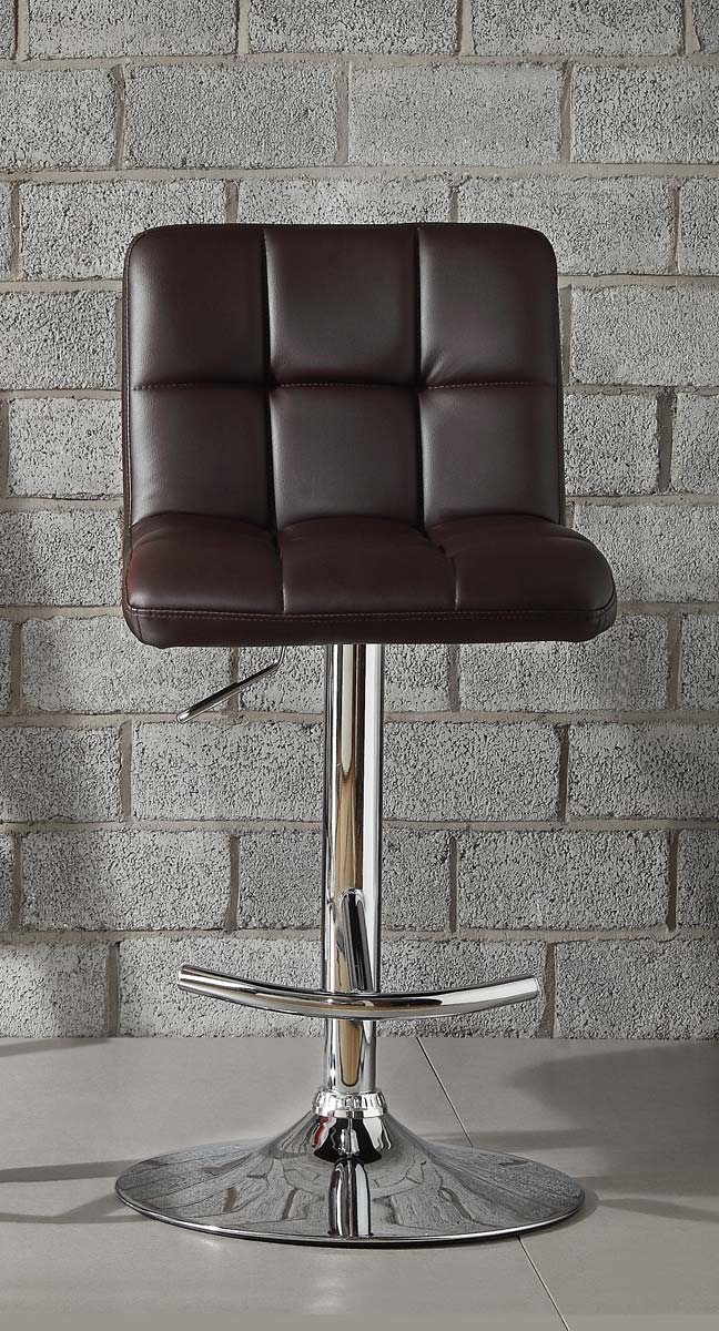 Homelegance 1157BRW Ride Swivel Stool - Brown