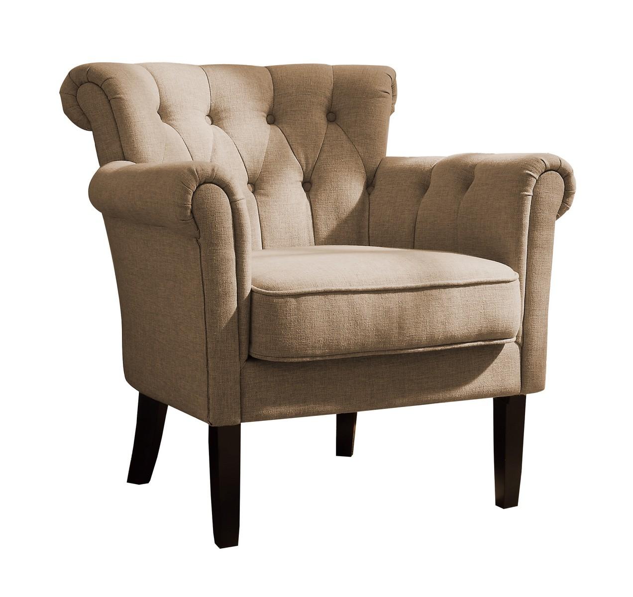 Homelegance Barlowe Accent Chair - Oatmeal