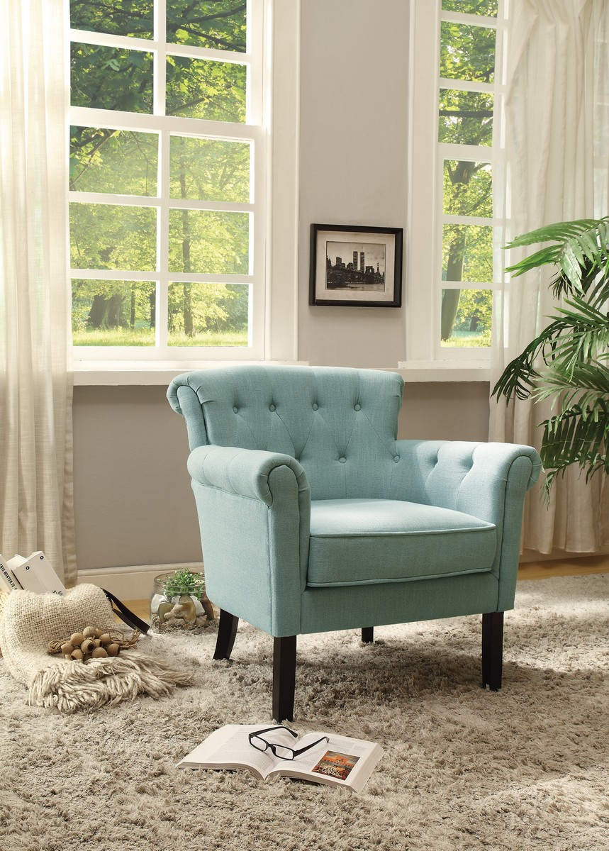 Homelegance Barlowe Accent Chair - Blue