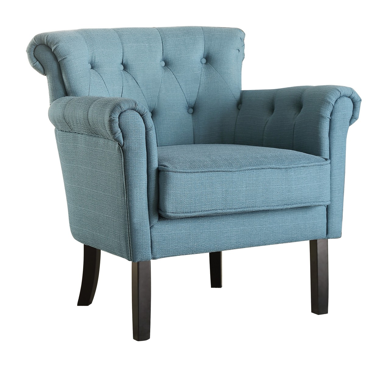 Homelegance Barlowe Accent Chair Dark Teal 1193f5s At