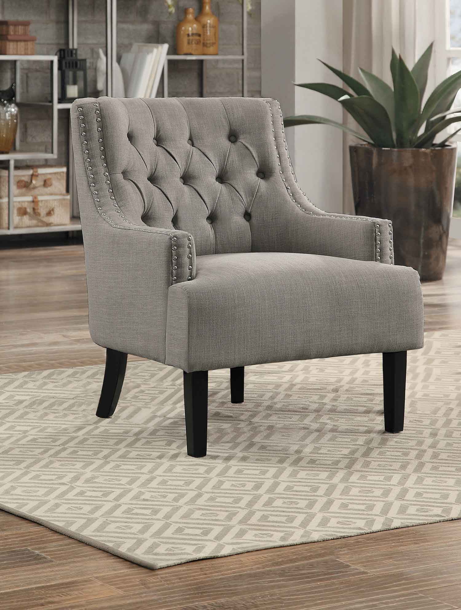 Homelegance Charisma Accent Chair Taupe 1194tp At
