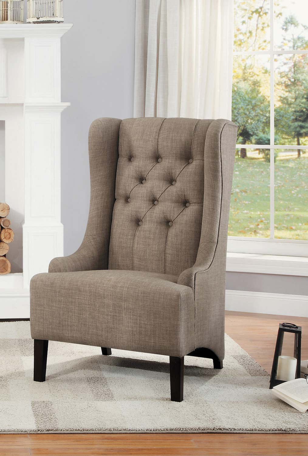 Homelegance Devon Accent Chair - Brown