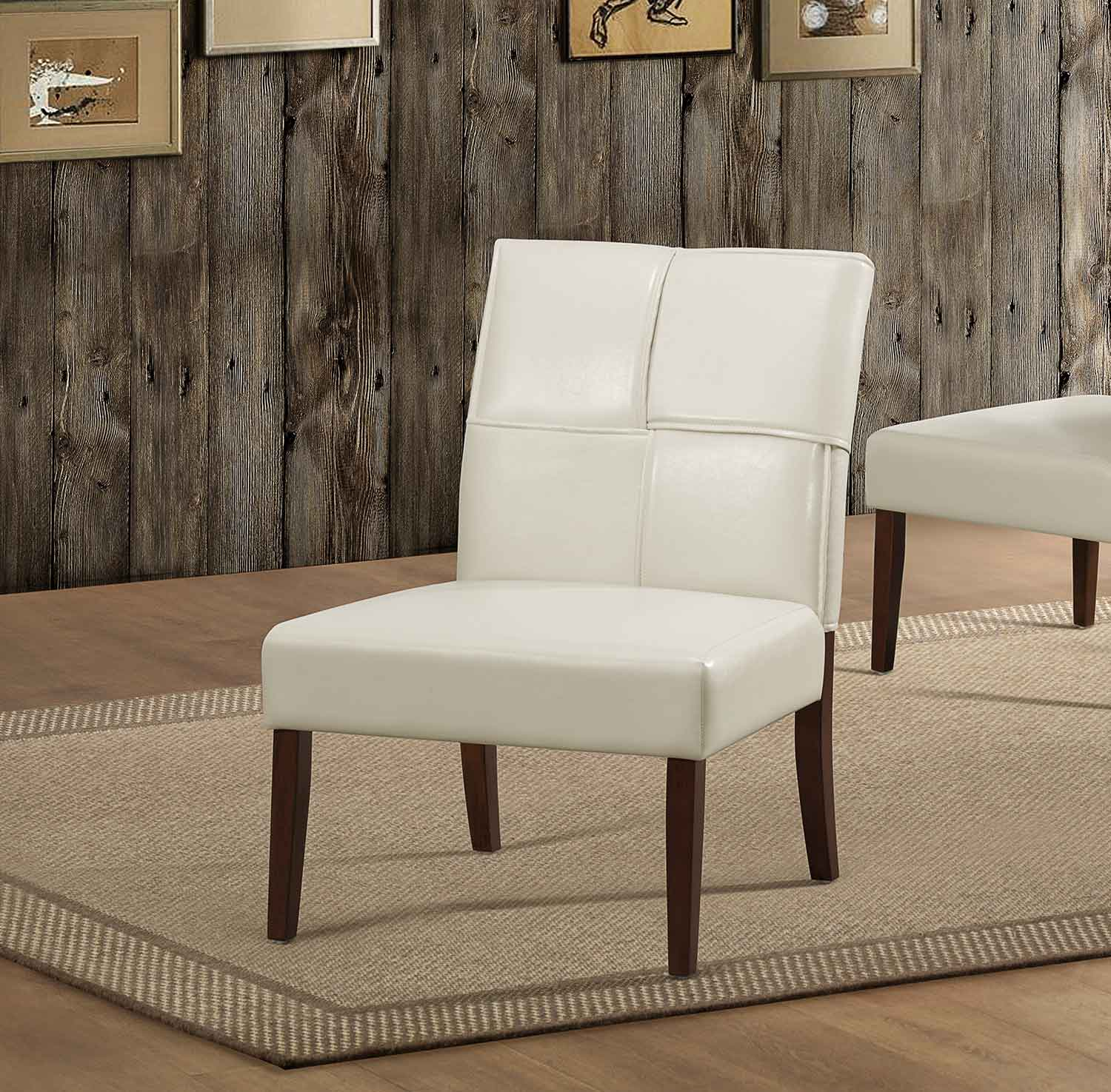 Homelegance Oriana Accent Chair - Cream